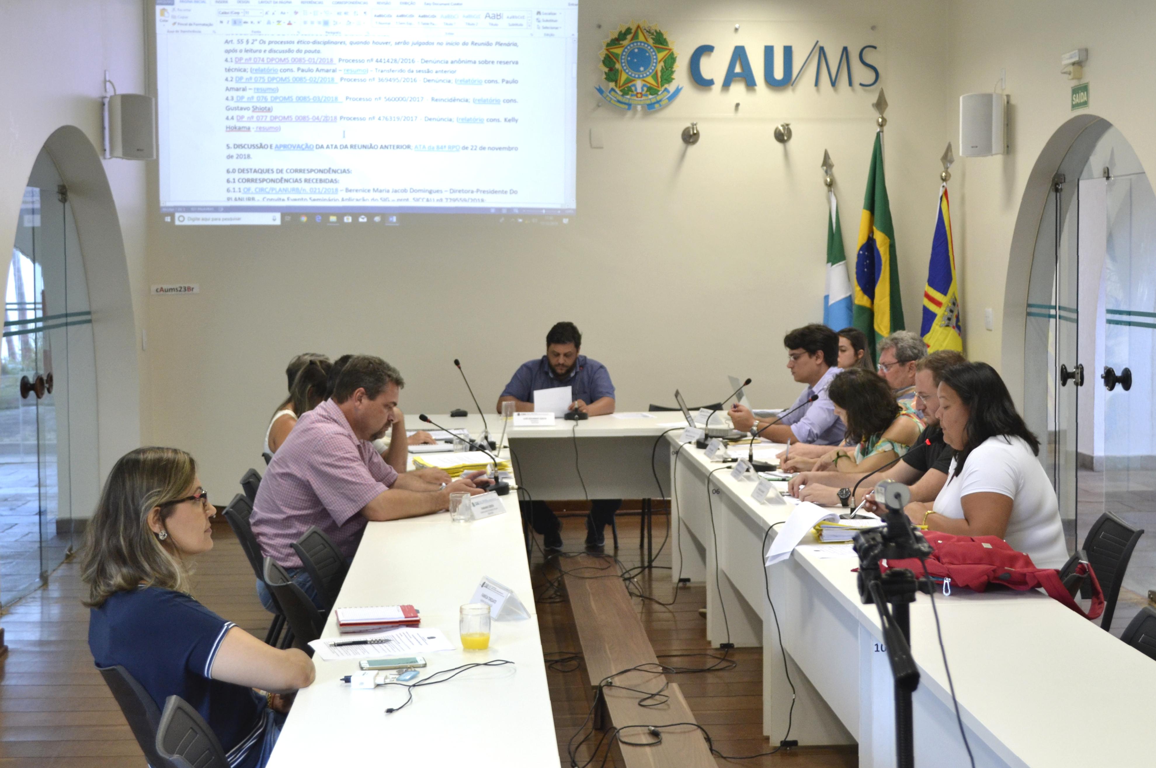 Calendario 2019 Campo Grande Ms.Conselheiros Aprovam Calendario 2019 Na 85ª Reuniao Plenaria